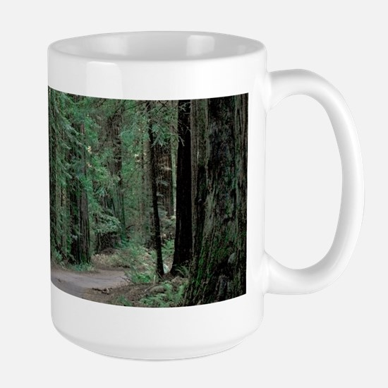 Redwood Path Large Mug