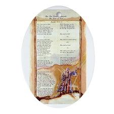 The Ten Commandments Keepsake (Oval)