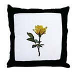 Ladybugs and rose Throw Pillow