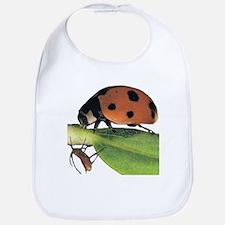 Ladybug and Aphid Bib