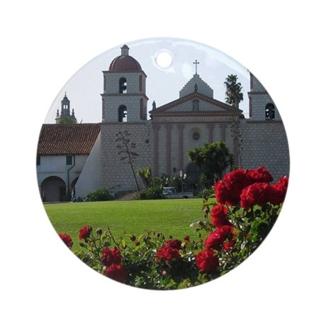 The Queen of the Missions Keepsake (Round)