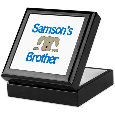 Samson's Brother Keepsake Box