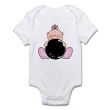 Lil Bowling Baby Girl Infant Bodysuit