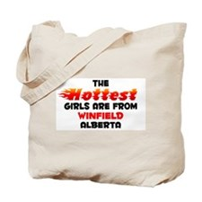 Hot Girls: Winfield, AB Tote Bag