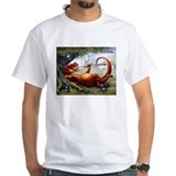 Dragon Mens Classic White T-Shirts