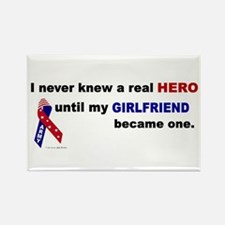 Never Knew A Hero.....Girlfriend (ARMY) Rectangle