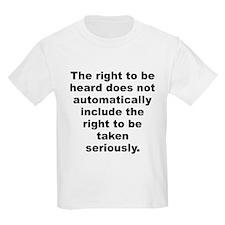 Cute Be heard T-Shirt