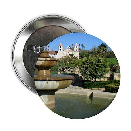 """Santa Barbara Fountain 2.25"""" Button (100 pack)"""