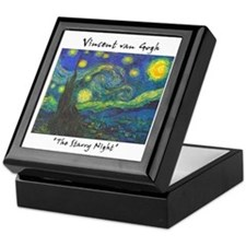 Starry Night Keepsake Box