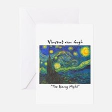 Starry Night Greeting Cards (Pk of 10)