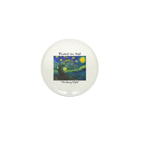 Starry Night Mini Button (100 pack)