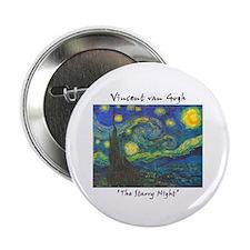 "Starry Night 2.25"" Button"