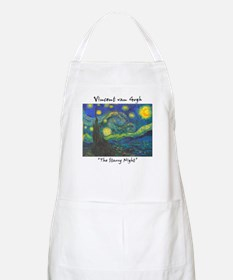 Starry Night BBQ Apron