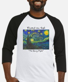 Starry Night Baseball Jersey