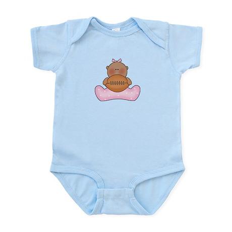Lil Football Baby Girl-Af Infant Bodysuit