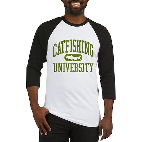 CATFISHING UNIVERSITY Baseball Jersey