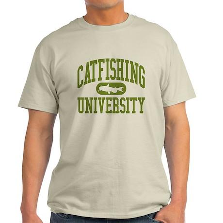 CATFISHING UNIVERSITY Light T-Shirt