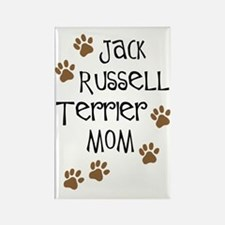 Jack Russell Terrier Mom Rectangle Magnet