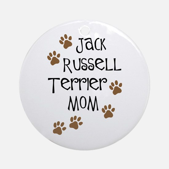 Jack Russell Terrier Mom Ornament (Round)