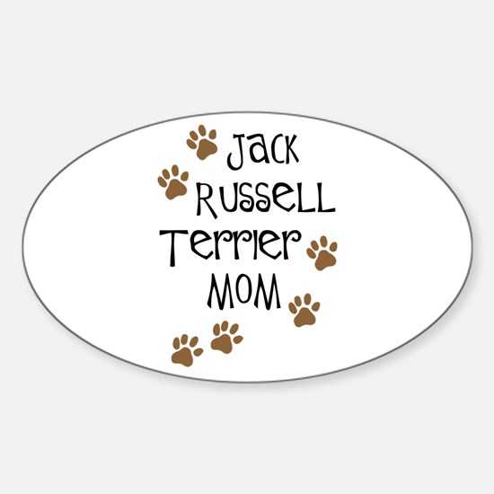 Jack Russell Terrier Mom Oval Decal