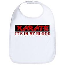 KARATE (IT'S IN MY BLOOD) Bib