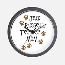 Jack Russell Terrier Mom Wall Clock