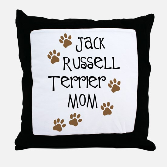 Jack Russell Terrier Mom Throw Pillow