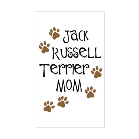 Jack Russell Terrier Mom Rectangle Sticker