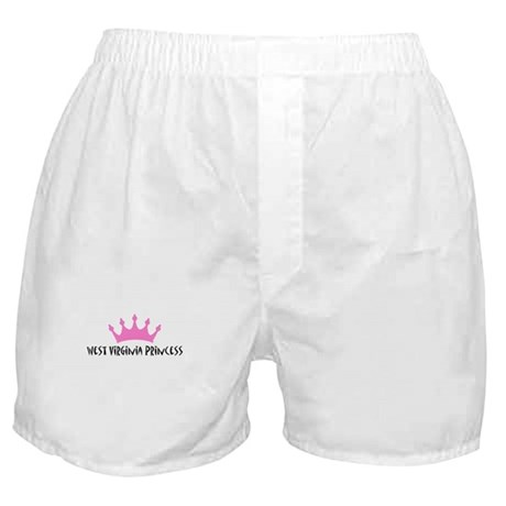 West Virginia Princess Boxer Shorts