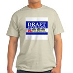 DRAFT REPUBLICANS Ash Grey T-Shirt