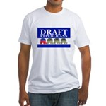 DRAFT REPUBLICANS Fitted T-Shirt