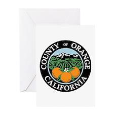 Orange County Greeting Card