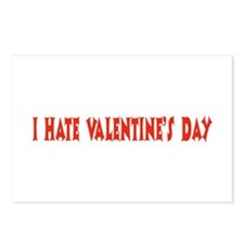 I Hate Valentine's Day Postcards (Package of 8)