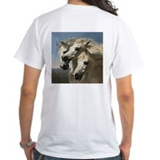 White Arabian Horses. Shirt