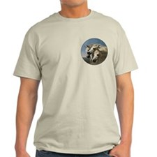 White Arabian Horses. T-Shirt