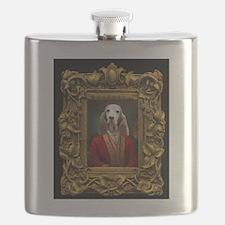 Duke in Baroque Frame Flask