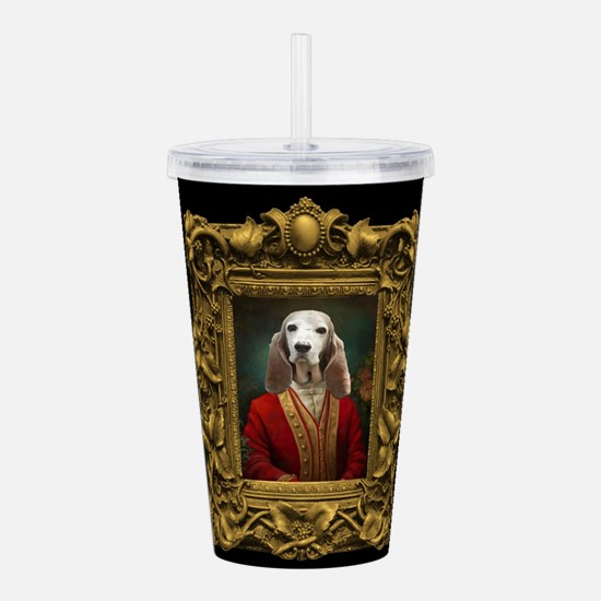 Duke in Baroque Frame Acrylic Double-wall Tumbler