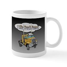 I Like Truck Fumes Small Mugs