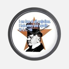 W. C. Fields Quotation t-shir Wall Clock