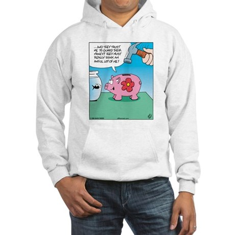 Piggy Bank Trust Hooded Sweatshirt