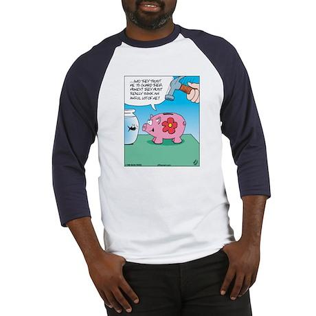 Piggy Bank Trust Baseball Jersey