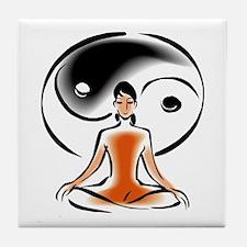 Yoga + Tao Tile Coaster
