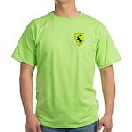 "Green T-Shirt, 3"" moose"