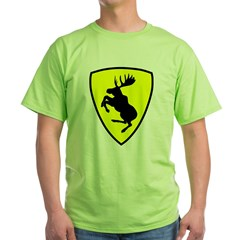 "T-Shirt, 9"" moose FRONT"