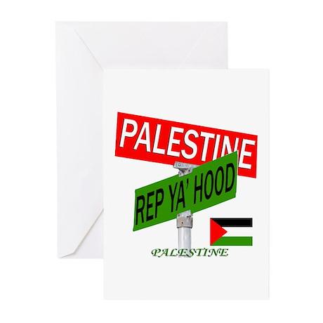 REP PALESTINE Greeting Cards (Pk of 20)