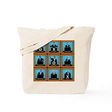 Presidential Squares Tote Bag
