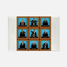 Presidential Squares Rectangle Magnet