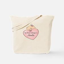 Heart Belongs To Abuela Tote Bag