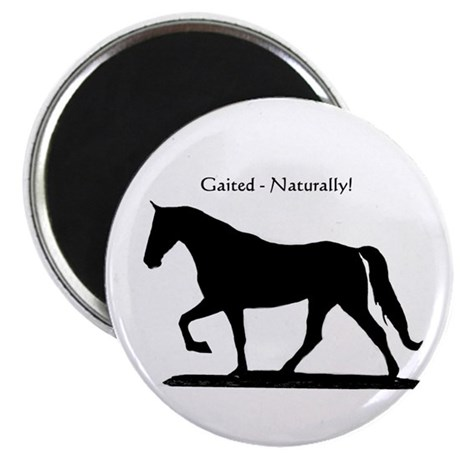 "Gaited 2.25"" Magnet (10 pack)"