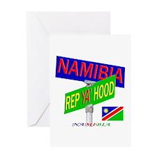 REP NAMIBIA Greeting Card